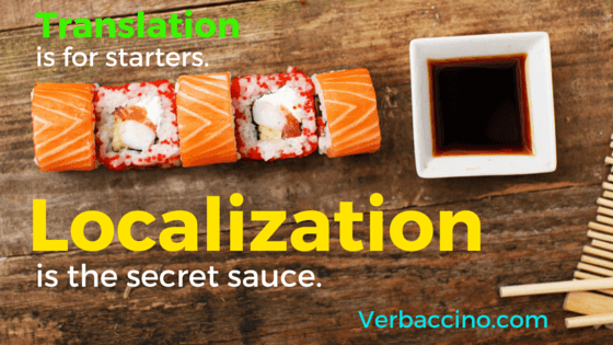 Verbaccino Blog - Localization