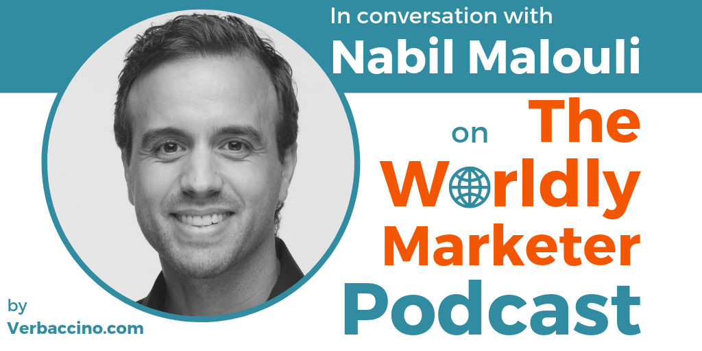 TWM 154: How Retail Brands of All Sizes Can Use Ecommerce to Go Global w/ Nabil Malouli • Verbaccino